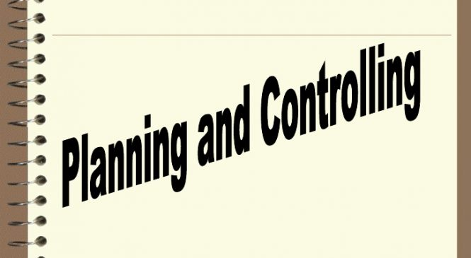 Effective Budgeting & Cost Control: Planning & Controlling